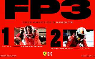 Formula 1: f1  azerbaijangp  ferrari  leclerc  fp3