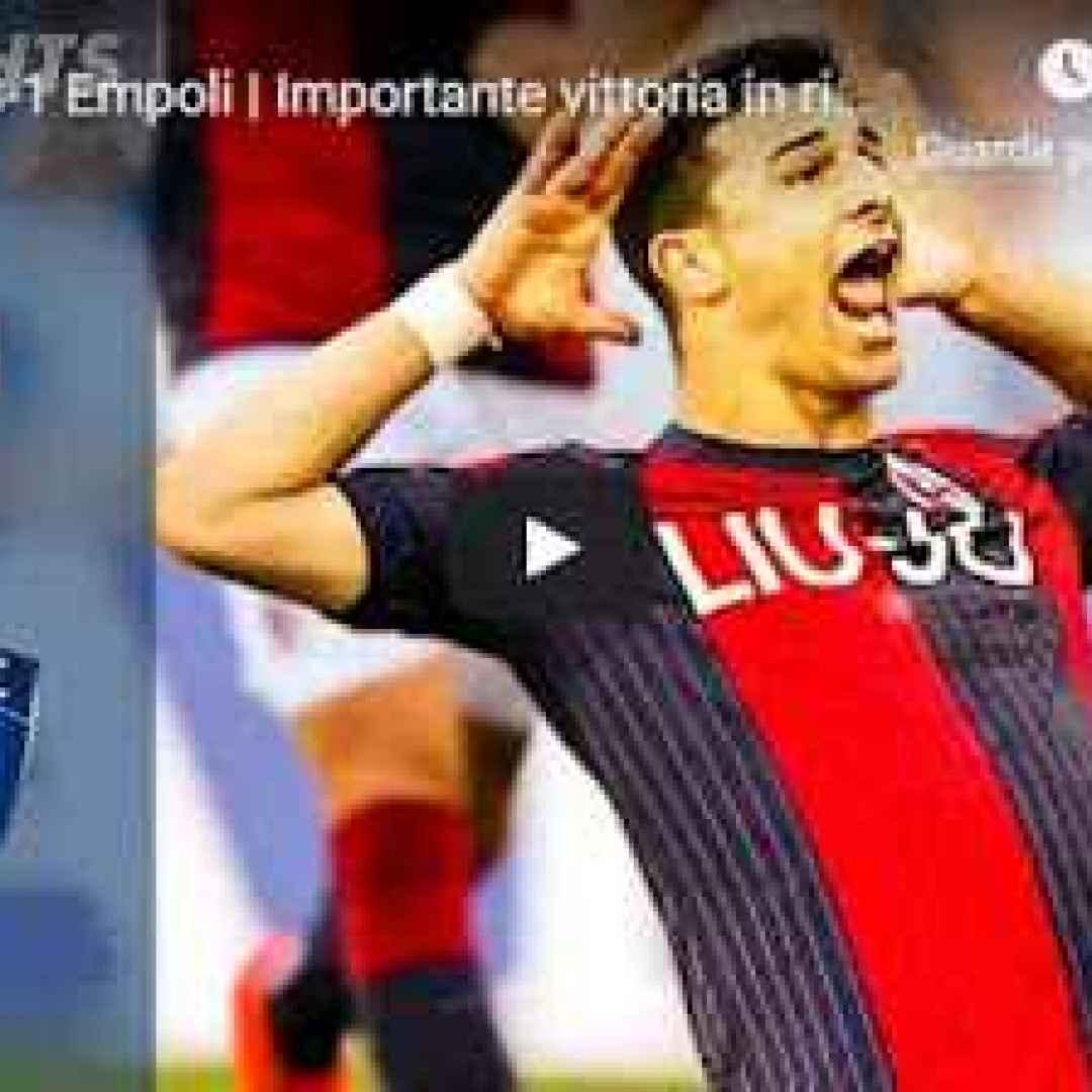 bologna empoli video gol calcio