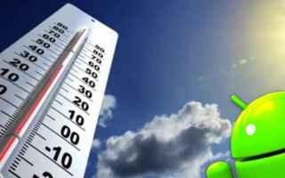 App: temperatura  meteo  android  tempo