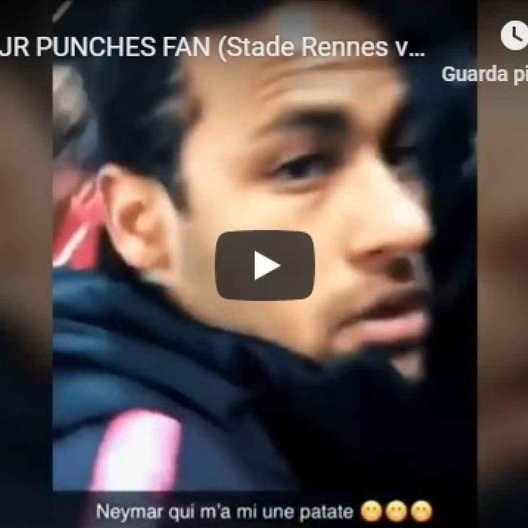 neymar tifoso calcio francia psg