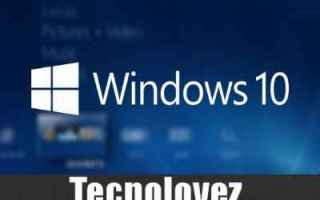 Computer: windows 10 sistema backup del sistema