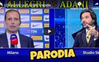 Serie A: adani allegri video juve gli autogol
