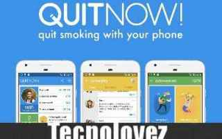 App: quitnow app smettere di fumare