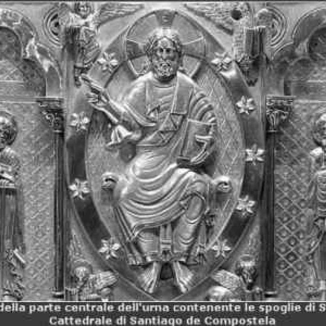 apostolo  cugino  gesù  giacomo  santiago di compostela