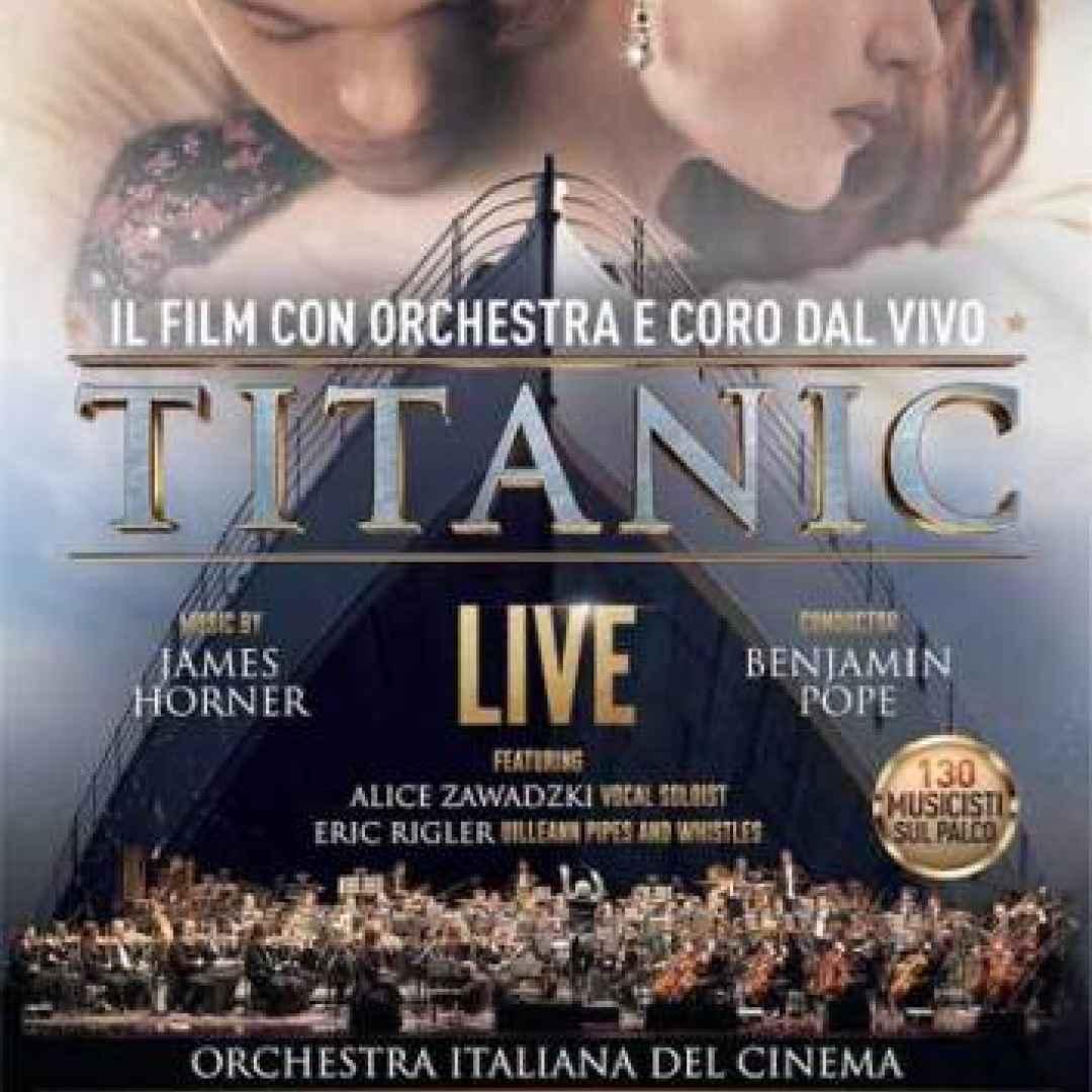 titanic live  milano concerto arcimboldi