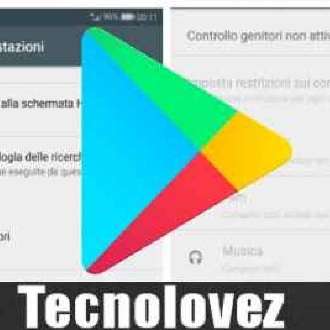 android google controllo genitori