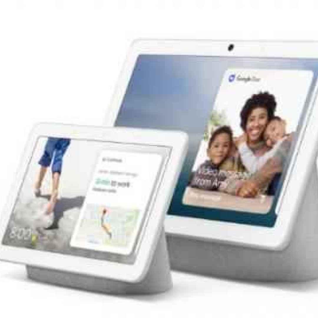 google  smart display  domotica