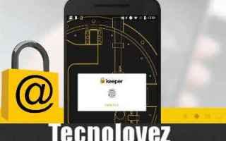 keeper gestione password app