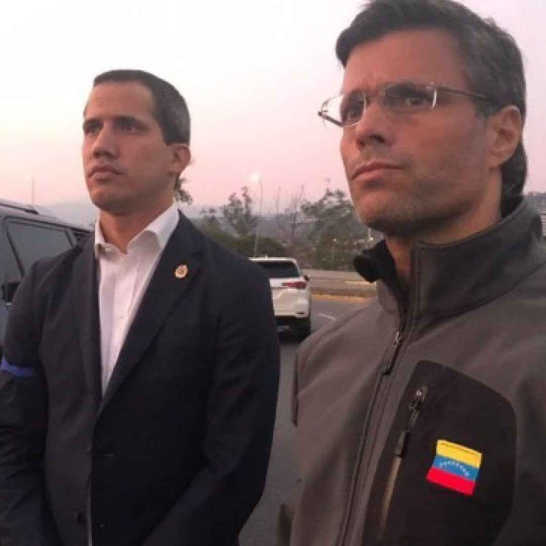 juan guaidò  venezuela  maduro