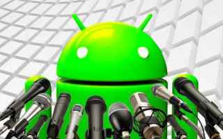 Android: registratore android app google telefono