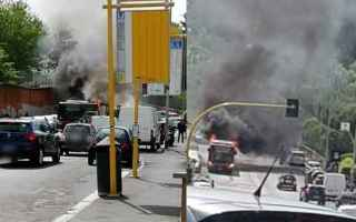 Roma: roma  trasporto pubblico  atac  flambus