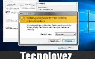 Microsoft: window 10  disattivare  aggiornamenti