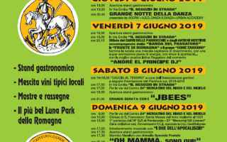Notizie locali: castel bolognese  pentecoste  sagra