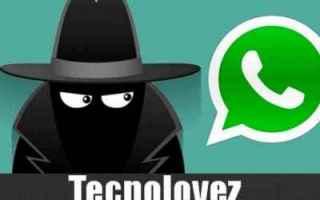 whatsapp disattivare account