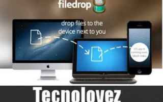 Computer: file drop trasferire file