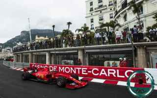 Formula 1: f1  monacogp  ferrari  vettel  leclerc