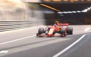 Formula 1: GRAN PREMIO DI MONACO FP3: LECLERC IL PIÙ VELOCE