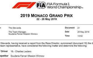Formula 1: f1  leclerc  ferrari  monacogp