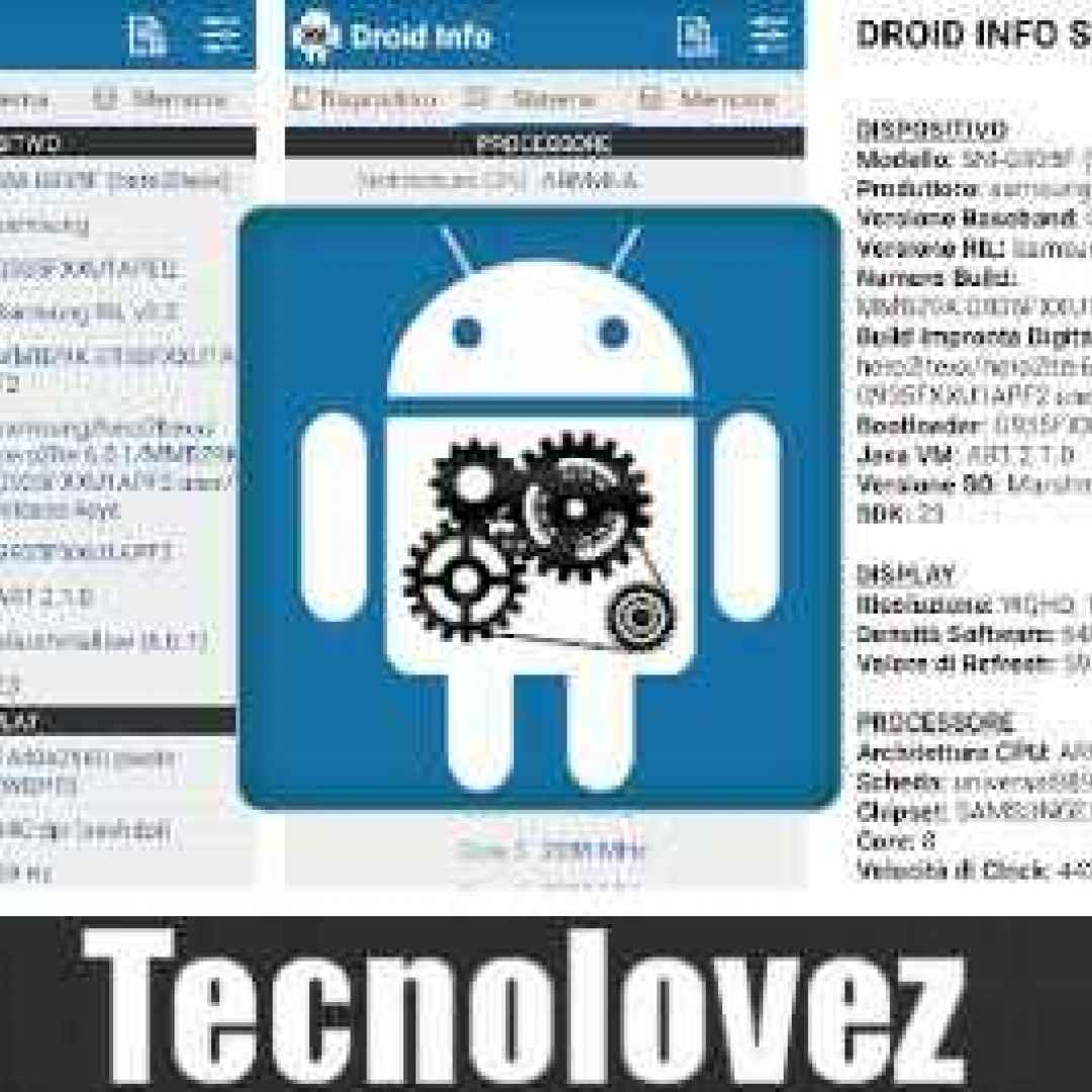 droid hardware info app