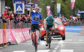 La pioggia e il freddo hanno reso, ancora più difficile la tappa regina del Giro 102, che affrontav