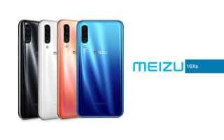 Cellulari: meizu 16xs  meizu  smartphone  tech