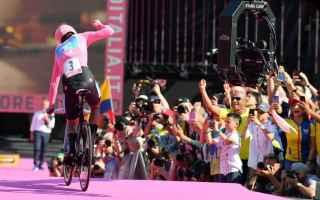 Ciclismo: CARAPAZ VINCE IL GIRO D