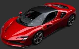 Automobili: Ferrari F90 Stradale: ufficiale la prima supercar hybrid plug-in del cavallino rampante