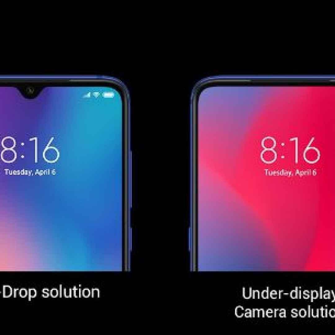 oppo  xiaomi  under-display camera  tech