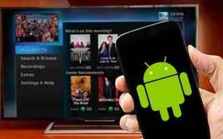 Tecnologie: android telecomando.app tv smartphone