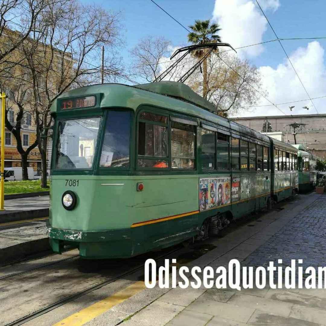 roma  trasporto pubblico  tram