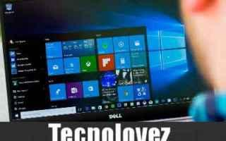 Computer: windows 10 barra applicazioni trasparent