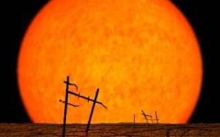 Astronomia: sole  spazio  pianeta