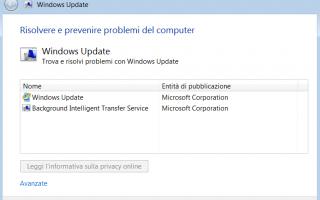 Vi è mai capitato di aggiornare windows update è di ricevere fallimento ogni volta che provate a f