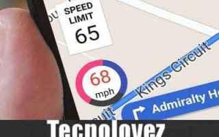 App: google maps tachimetro