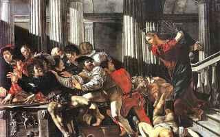Religione: gesù  mercanti  profanazione  tempio