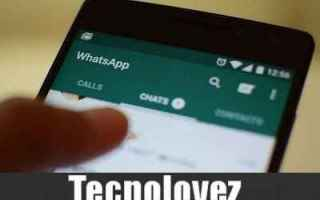 WhatsApp: whatsapp controllare stato chi ha visto