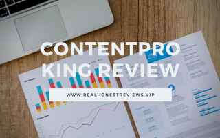 Soldi: contentpro king review  fare soldi