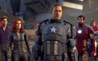 Mobile games: videogame  avengers