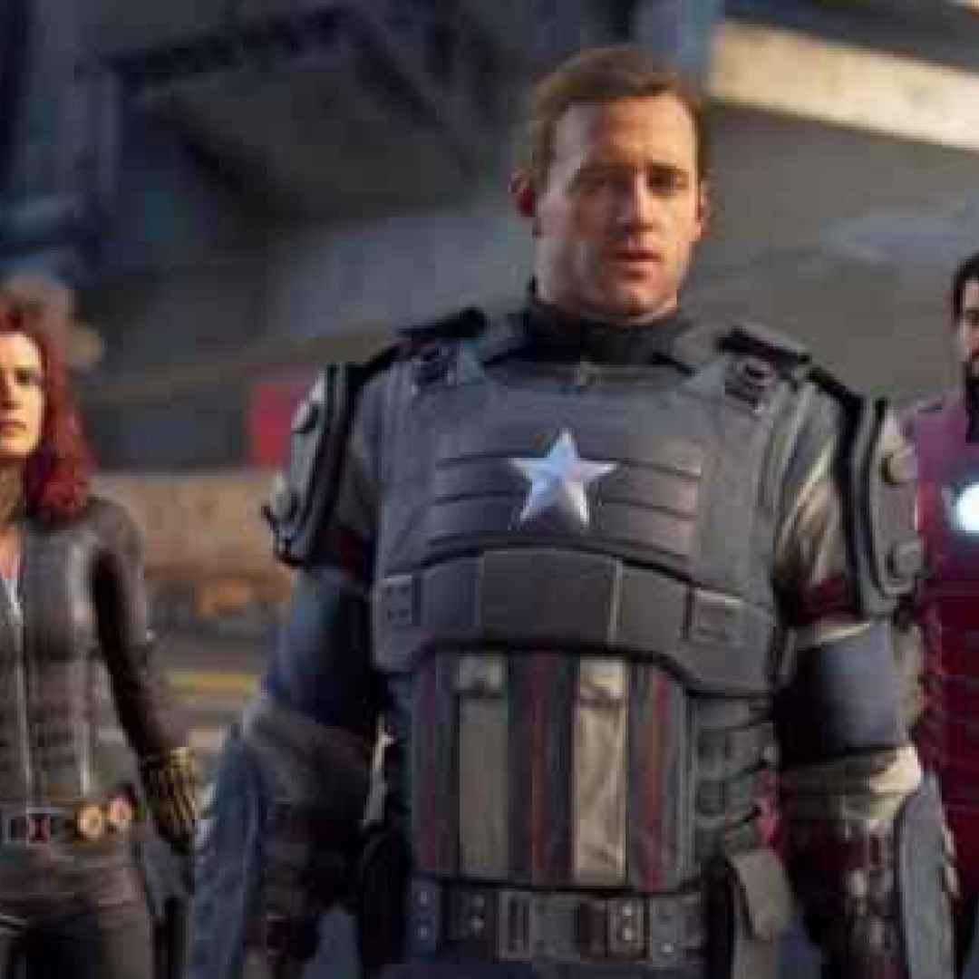 videogame  avengers