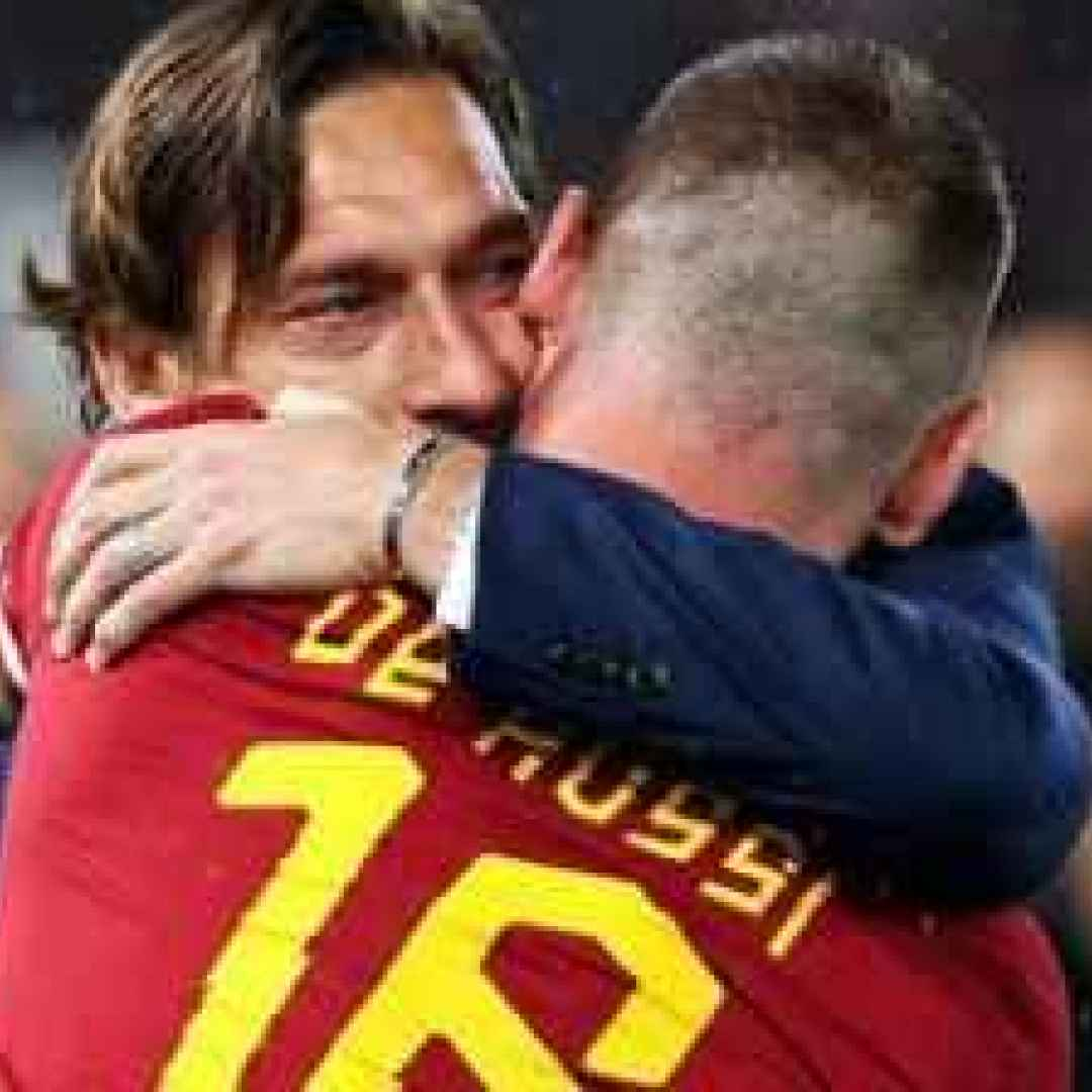 totti roma calcio francesco  pallotta