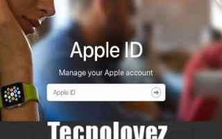 iPhone - iPad: come recuperare il tuo id apple apple id