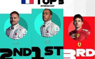 La vittoria del Gran Premio di Francia, non è mai stata in discussione infatti Lewis Hamilton dopo