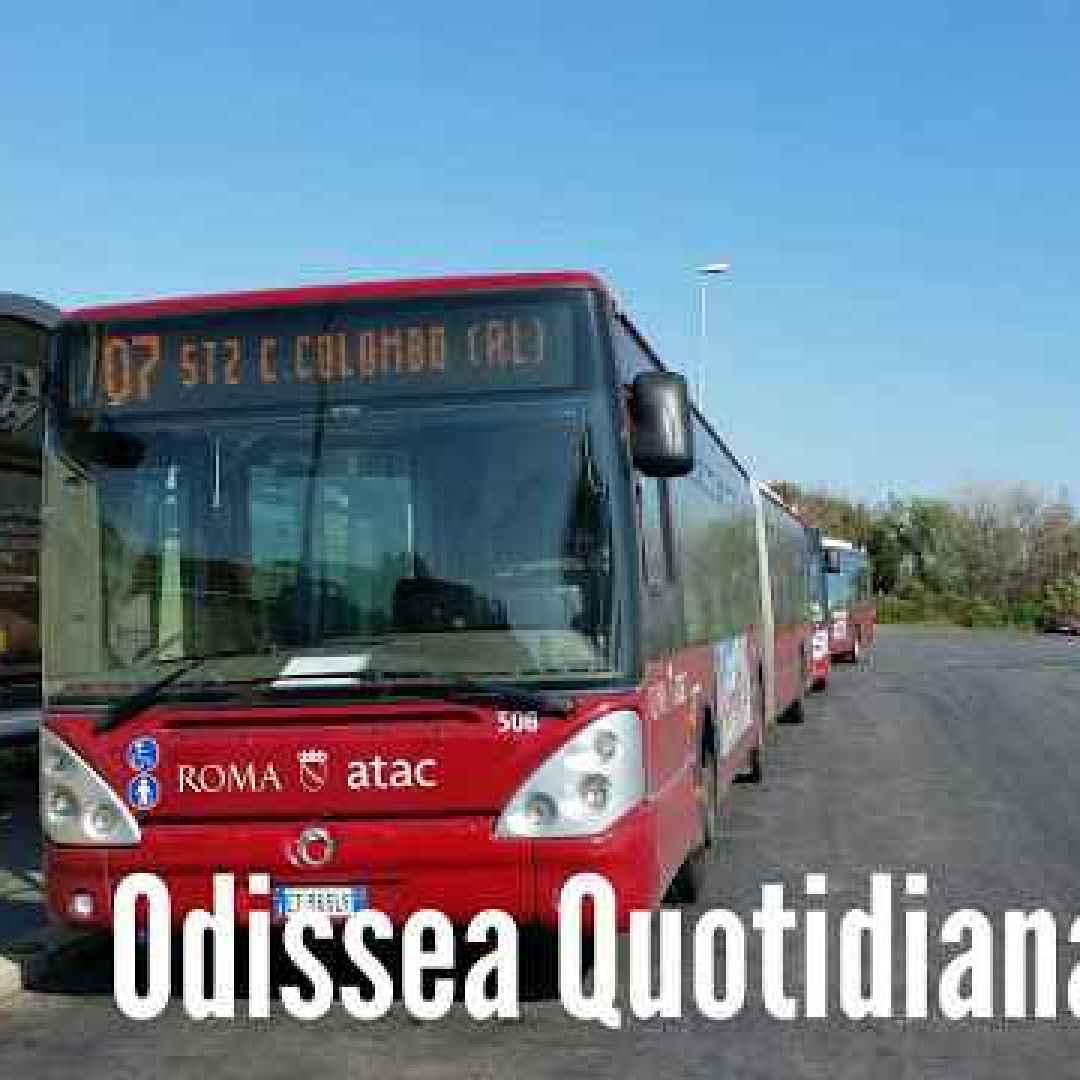 roma  trasporto pubblico  bus  atac