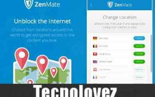 Internet: zenmate anonimato internet ip