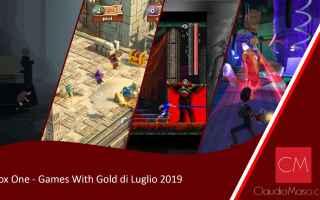 Console games: I 4 giochi gratuiti di Luglio 2019 per Xbox One ed Xbox 360