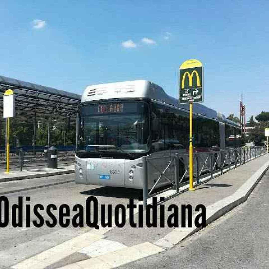 roma  trasporto pubblico  filobus