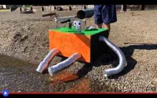 Video divertenti: robot  ingegneria  invenzioni  sassi