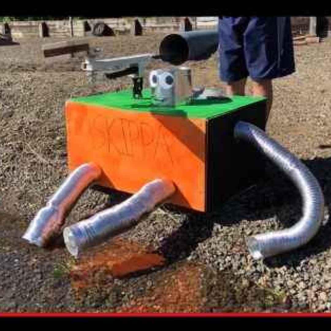 robot  ingegneria  invenzioni  sassi