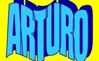 arturo  significato  etimologia  nome