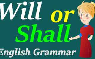 Scuola: Shall I?!  Come si usa in inglese